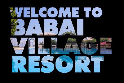 welcome to babai village resort